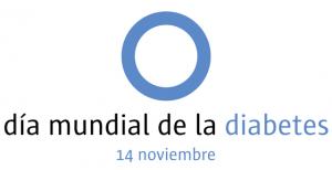 Logo del dia mundial de la diabetes