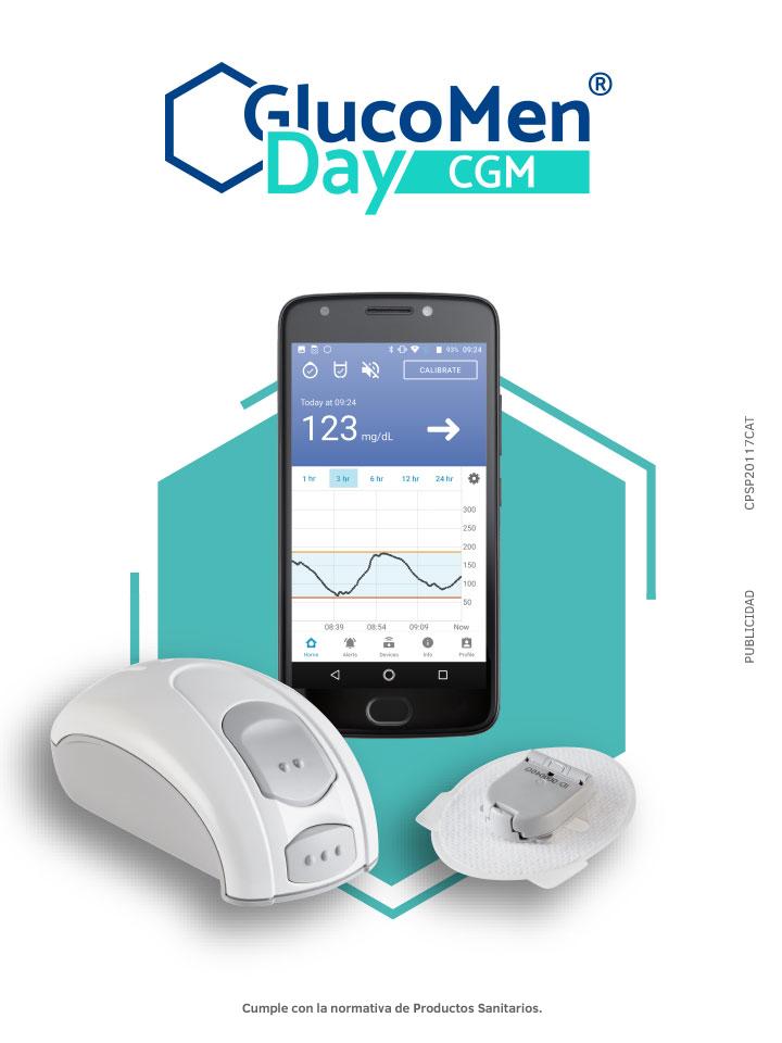 GlucoMen Day CGM