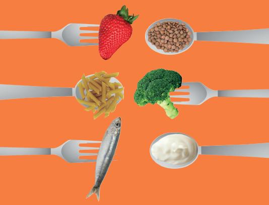 Recomendaciones generales sobre alimentación saludable