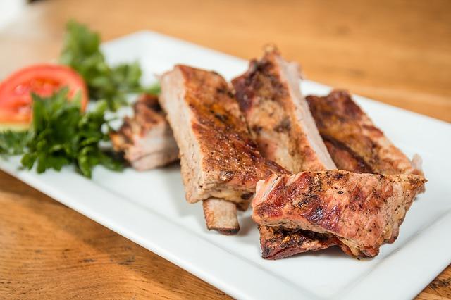 Receta de costillas de cerdo con ajo