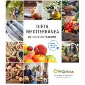 Día Nacional de la Nutrición 2021, dedicado a la dieta mediterránea
