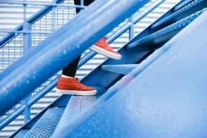 Subir escaleras es un hábito muy saludable