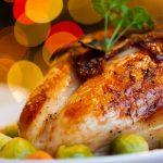 Pollo con champinones y vinagre balsamico