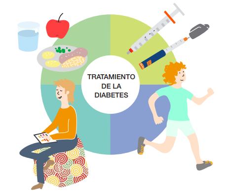 Pilares del tratamiento de la diabetes