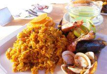 Receta: Paella de marisco