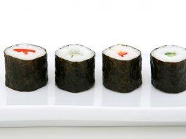 Norimaki de pepino y zanahoria