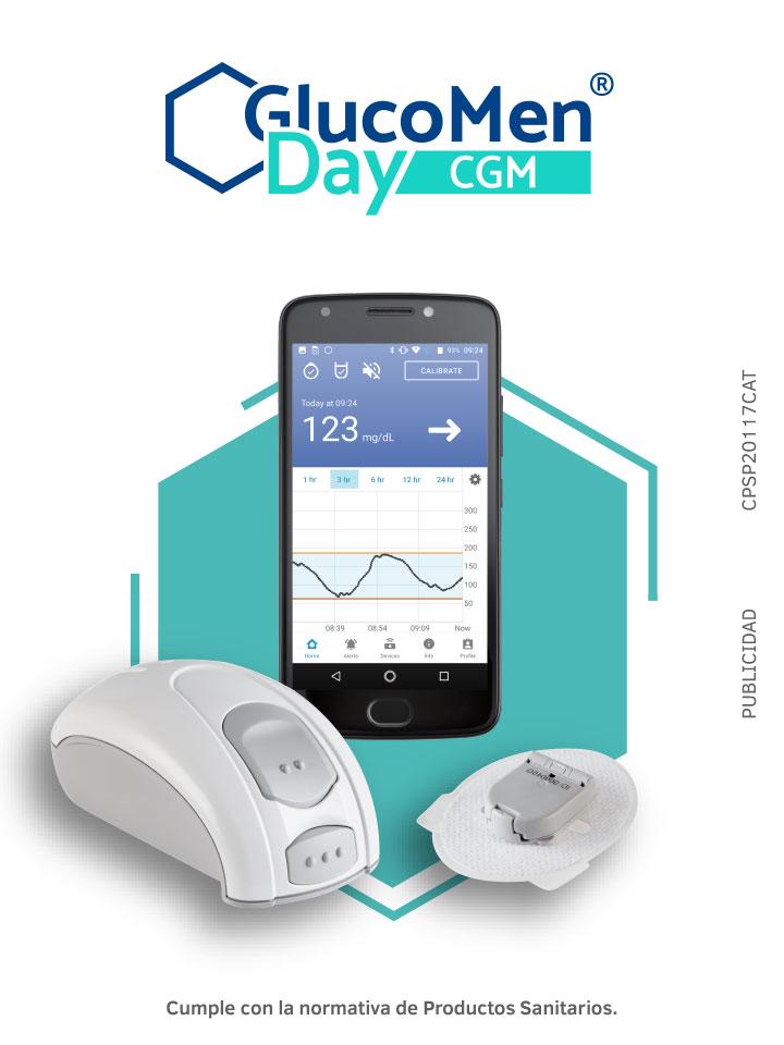 Glucomenday, el monitor continuo de glucosa el tiempo real de Menarini Diagnosticos
