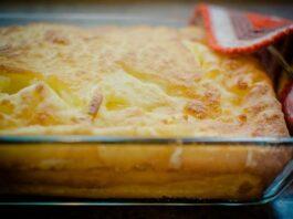 Cazuela al horno con verdura y huevo