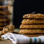 Receta de galletas de avena con chocolate