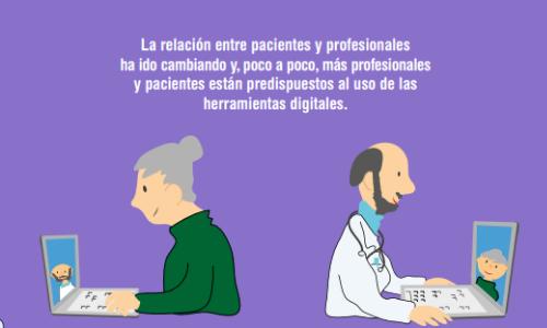 Profesionales y pacientes en la salud digital