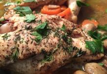 Pechuga de pollo al vinagre balsámico