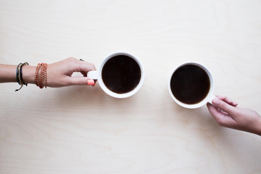 Las personas que toman café