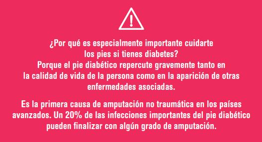 Importancia de cuidar los pies si tienes diabetes