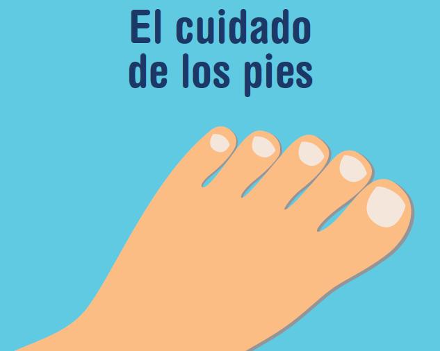 El cuidado de los pies si tienes diabetes