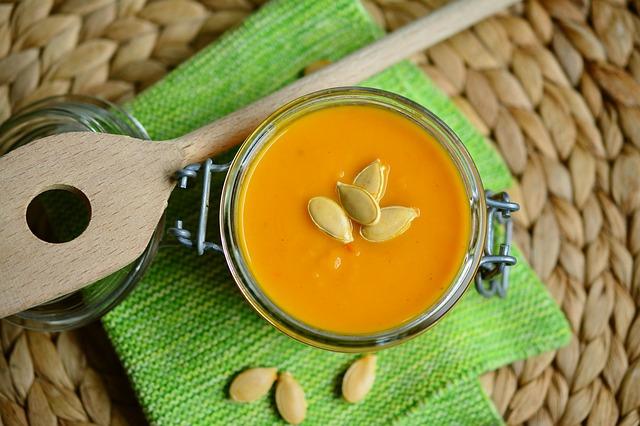 Sopa de calabaza para personas con diabetes