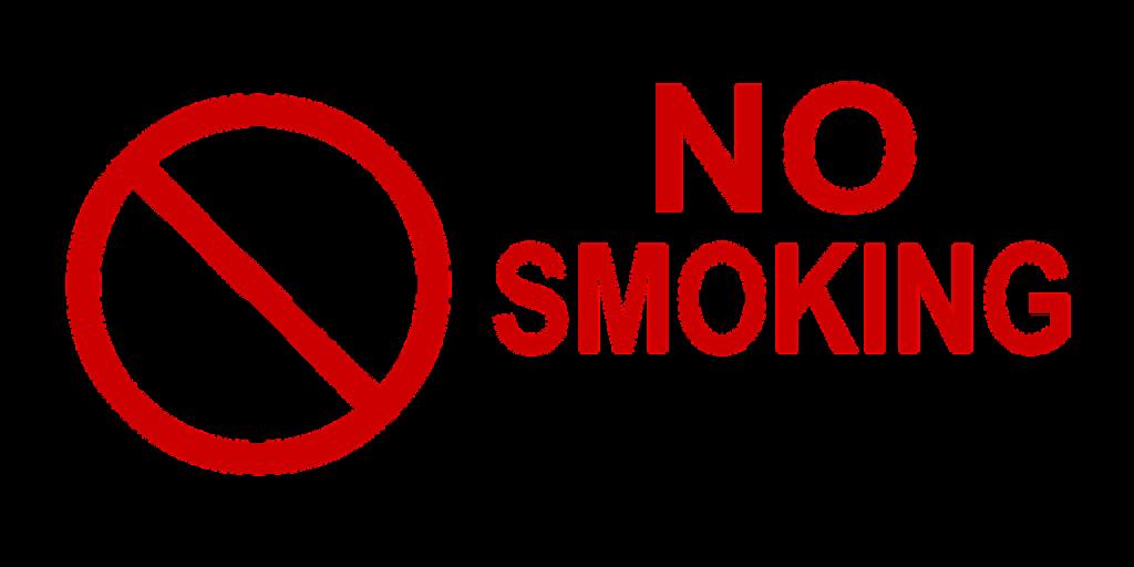 Señal: No fumar