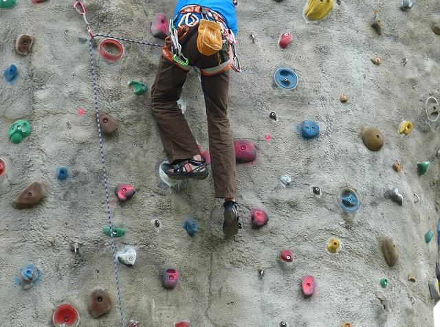 La escalada es un deporte muy divertido y completo