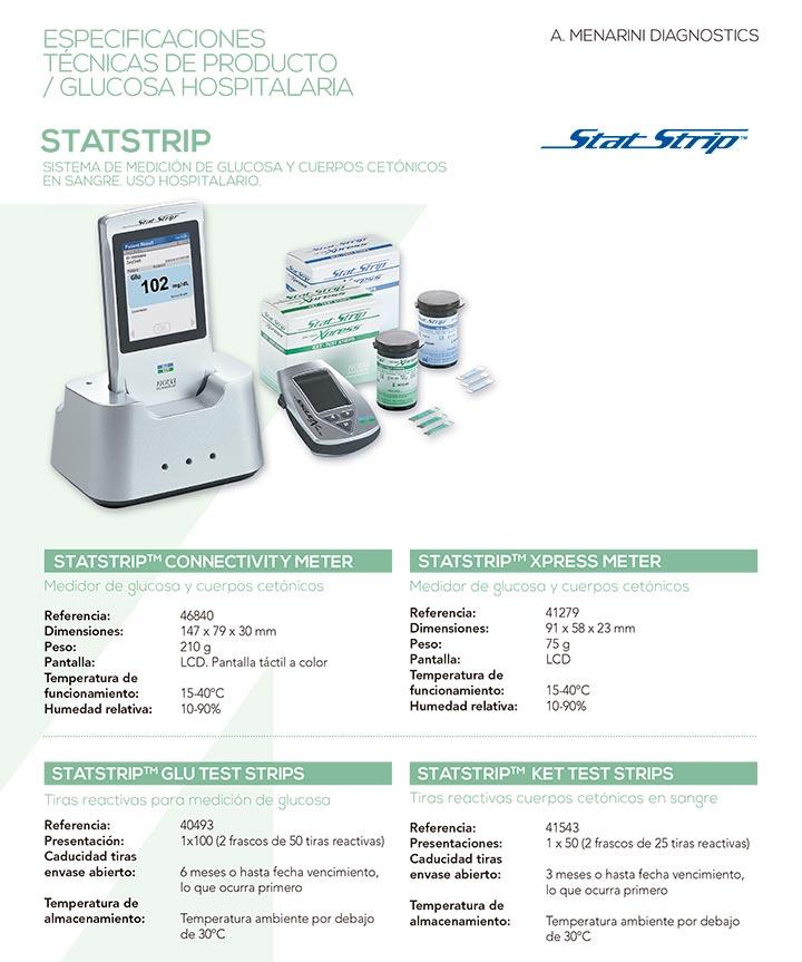 Ficha técnica - Sistema StatStrip